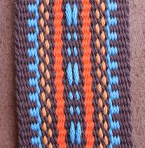 Guitar strap, southwestern design, fancy guitar strap, handwoven guitar strap, handmade,