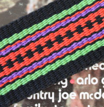 guitar strap, acoustic guitar strap, handmade guitar strap