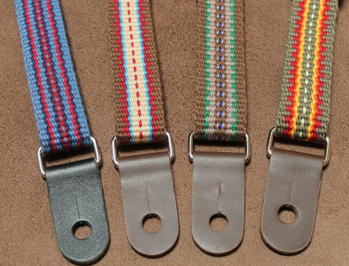 colorful ukulele straps