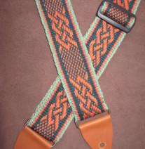 celtic knot guitar strap