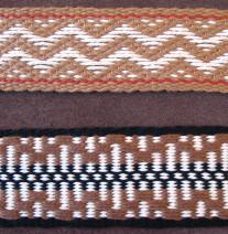 patterned guitar straps