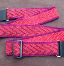 handwoven guitar strap