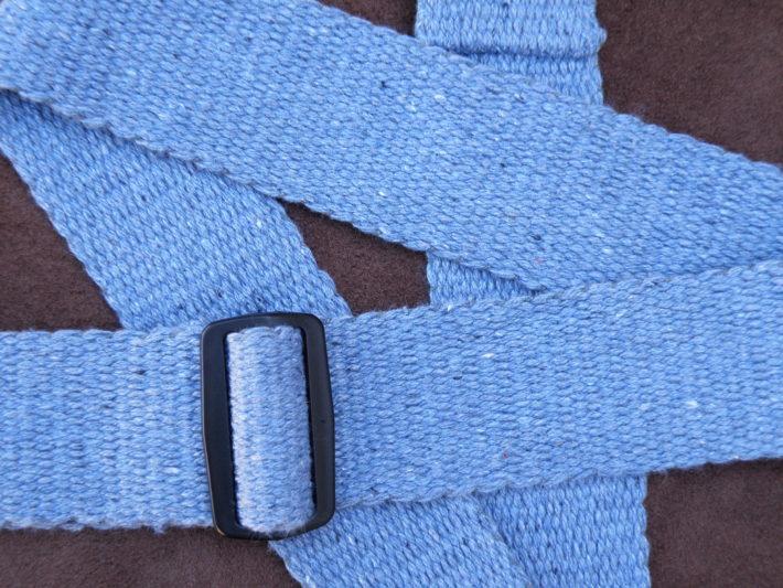 blue jean guitar strap