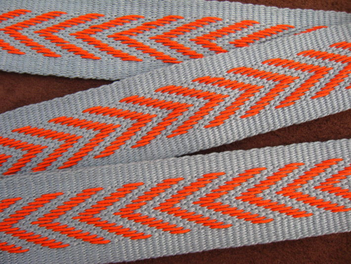 chevron guitar strap