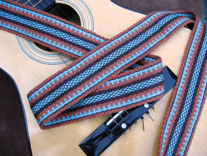 southwest guitar strap