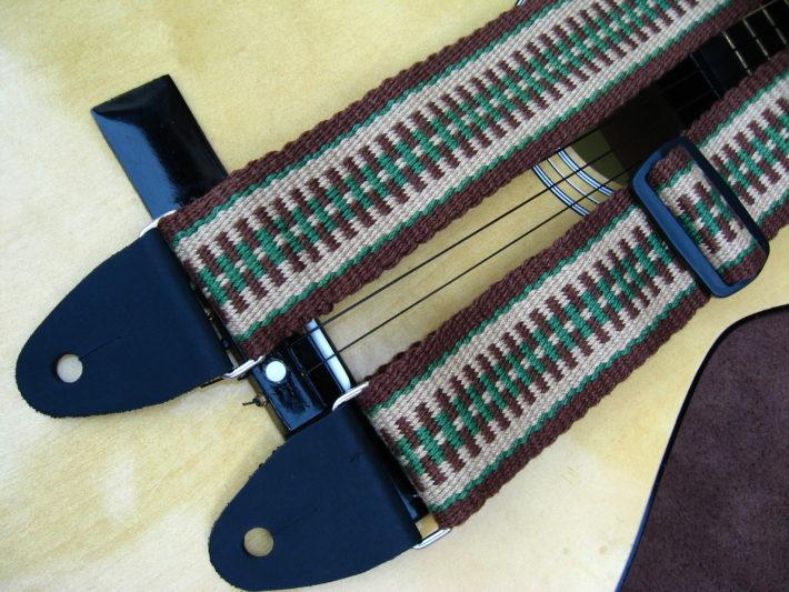 woven guitar strap