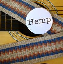 hemp guitar strap