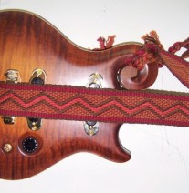 custom mandolin strap