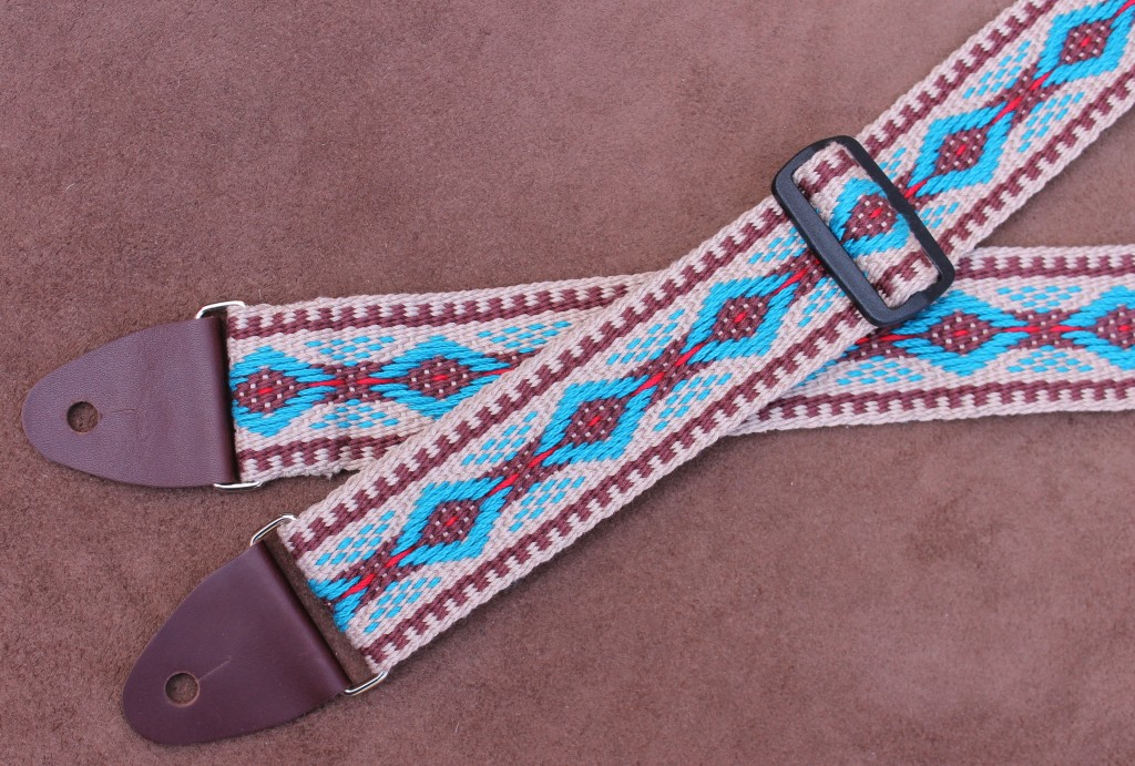 southwest diamond guitar strap