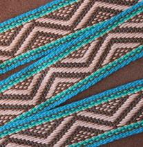 southwest pattern guitar strap