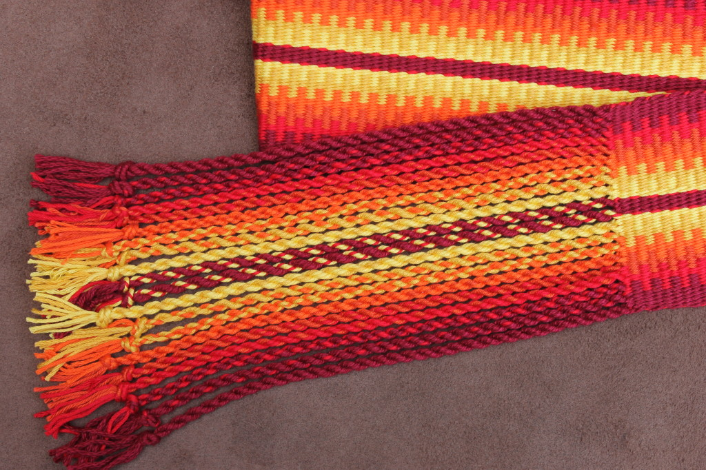 Sunburst Guitar Strap