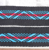 southwest pattern guitar strap