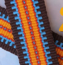 southwest guitar strap