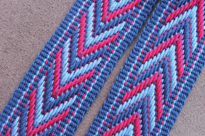 pattern guitar strap