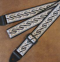 serpent design guitar strap