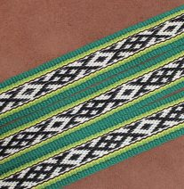 Norwegian Patterned Guitar Strap